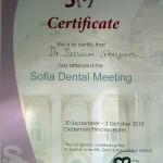 sofia dental meeting